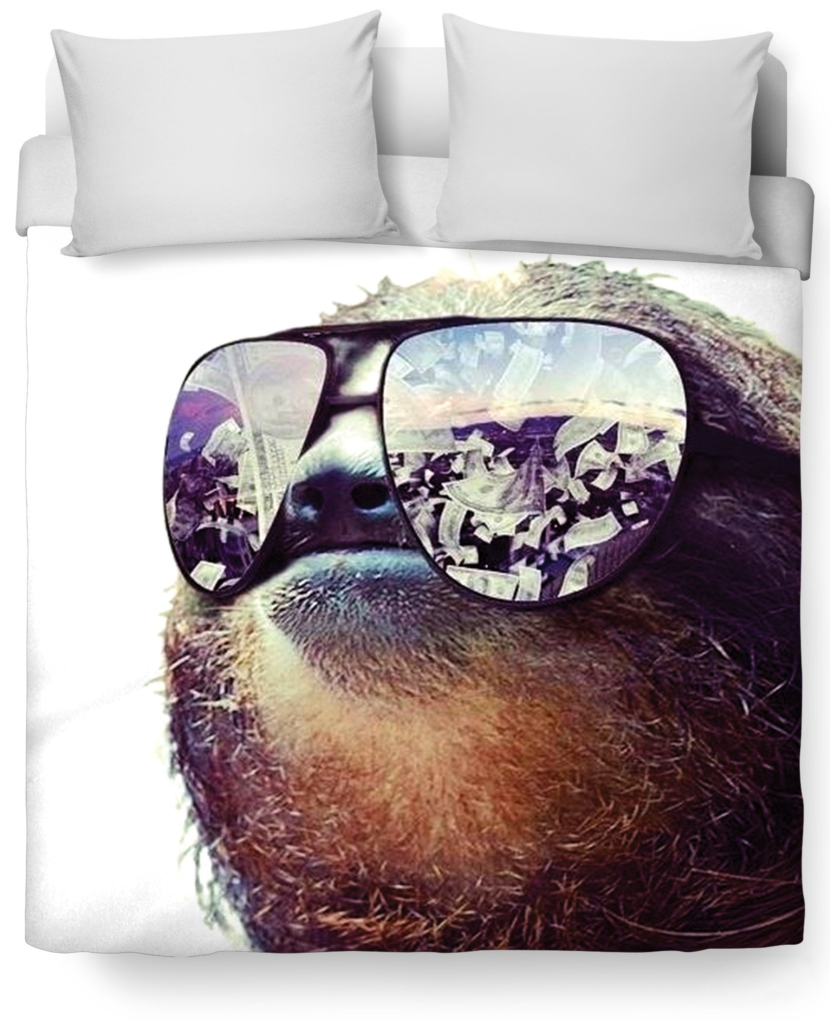 Sloth Swag Duvet Cover