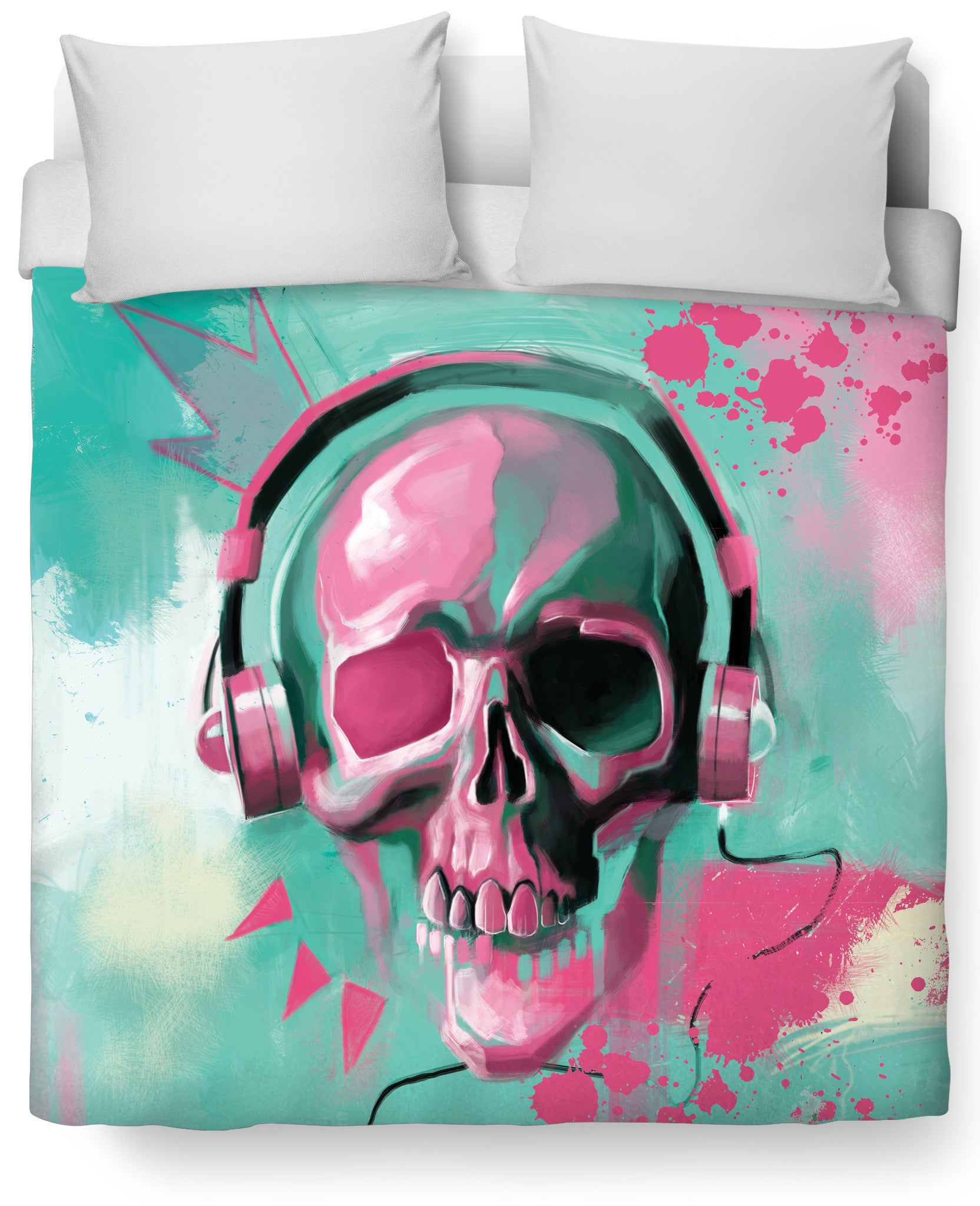 Skull Candy Duvet Cover