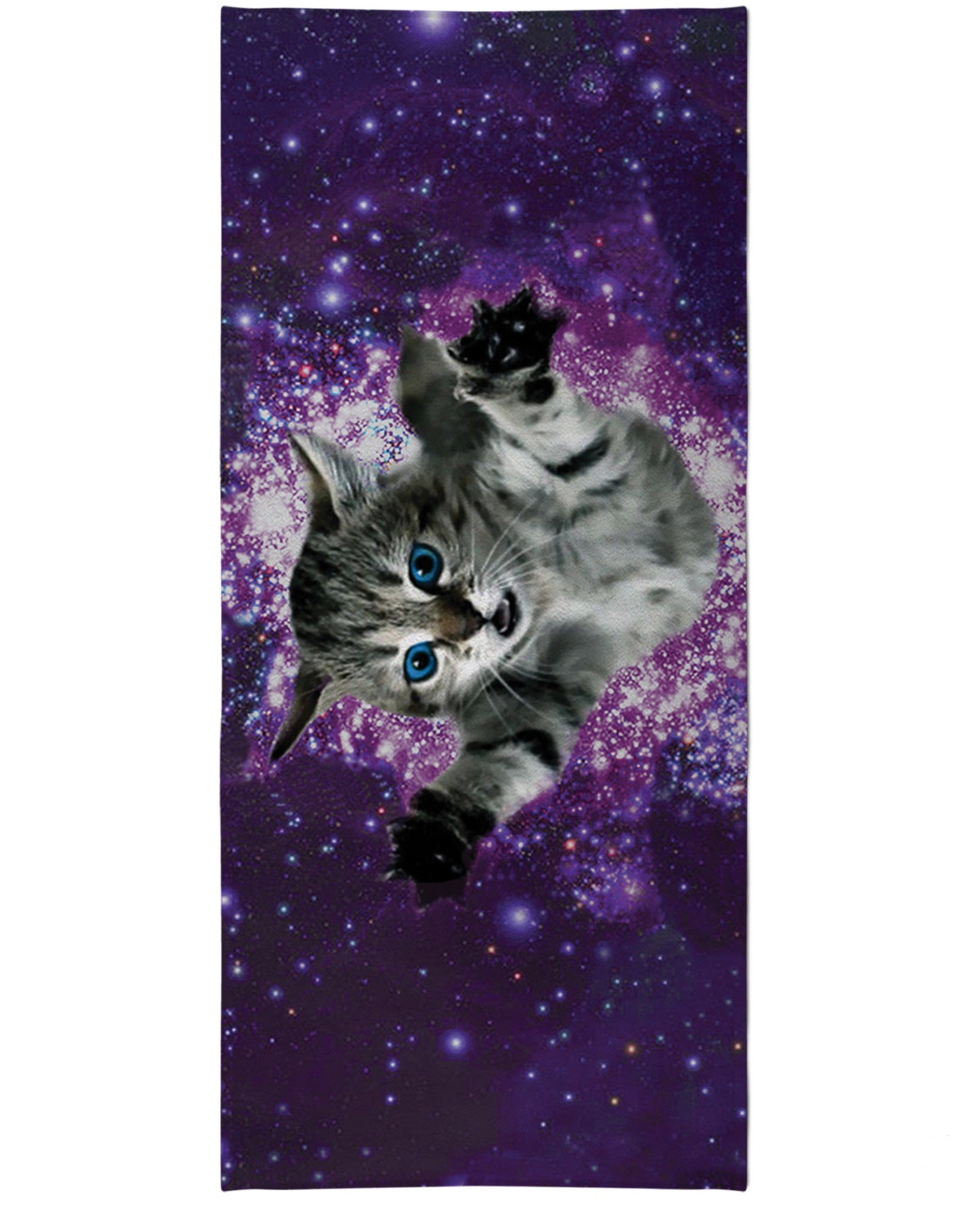 Kitty Glitter Beach Towel