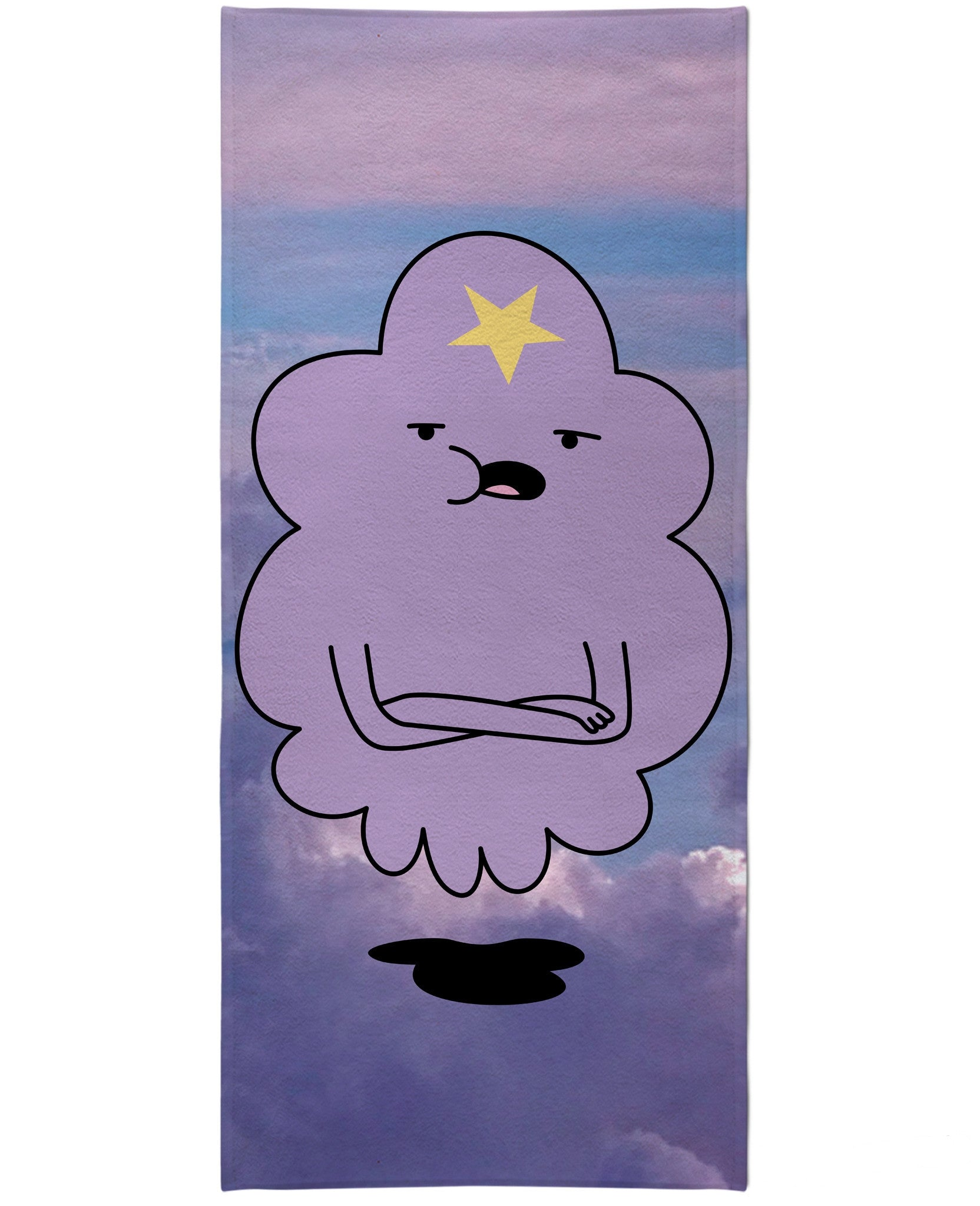 Lumpy Space Princess Beach Towel