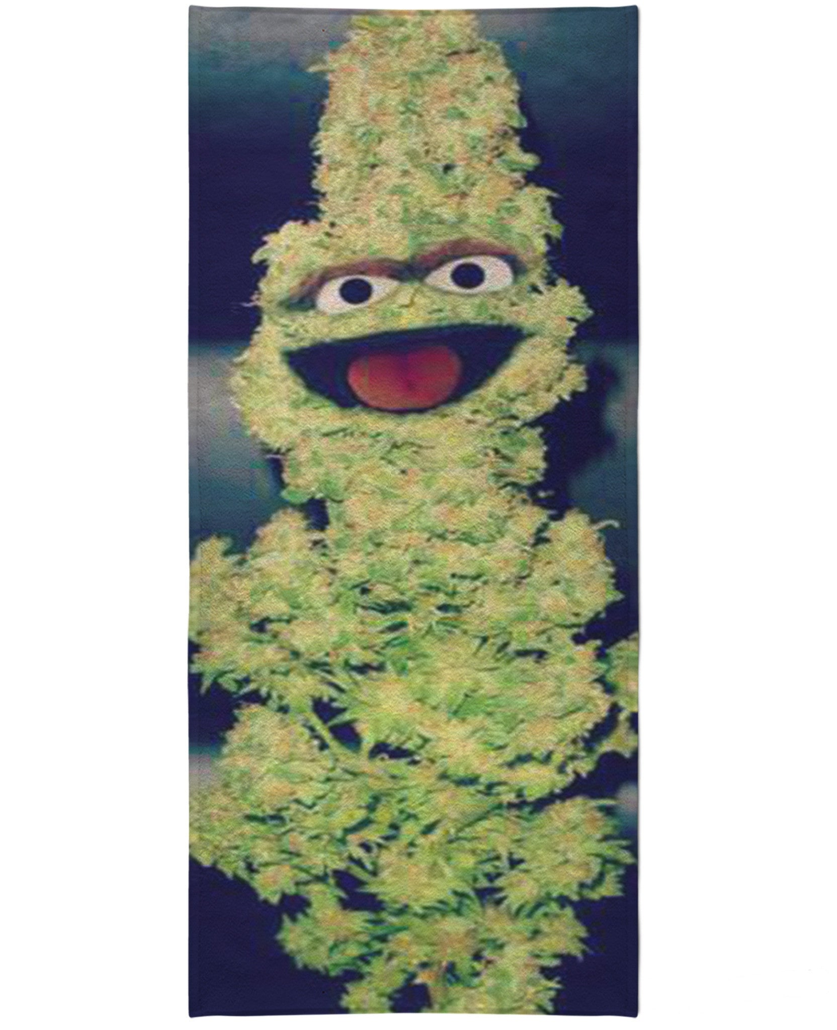 Oscar the Nug Beach Towel