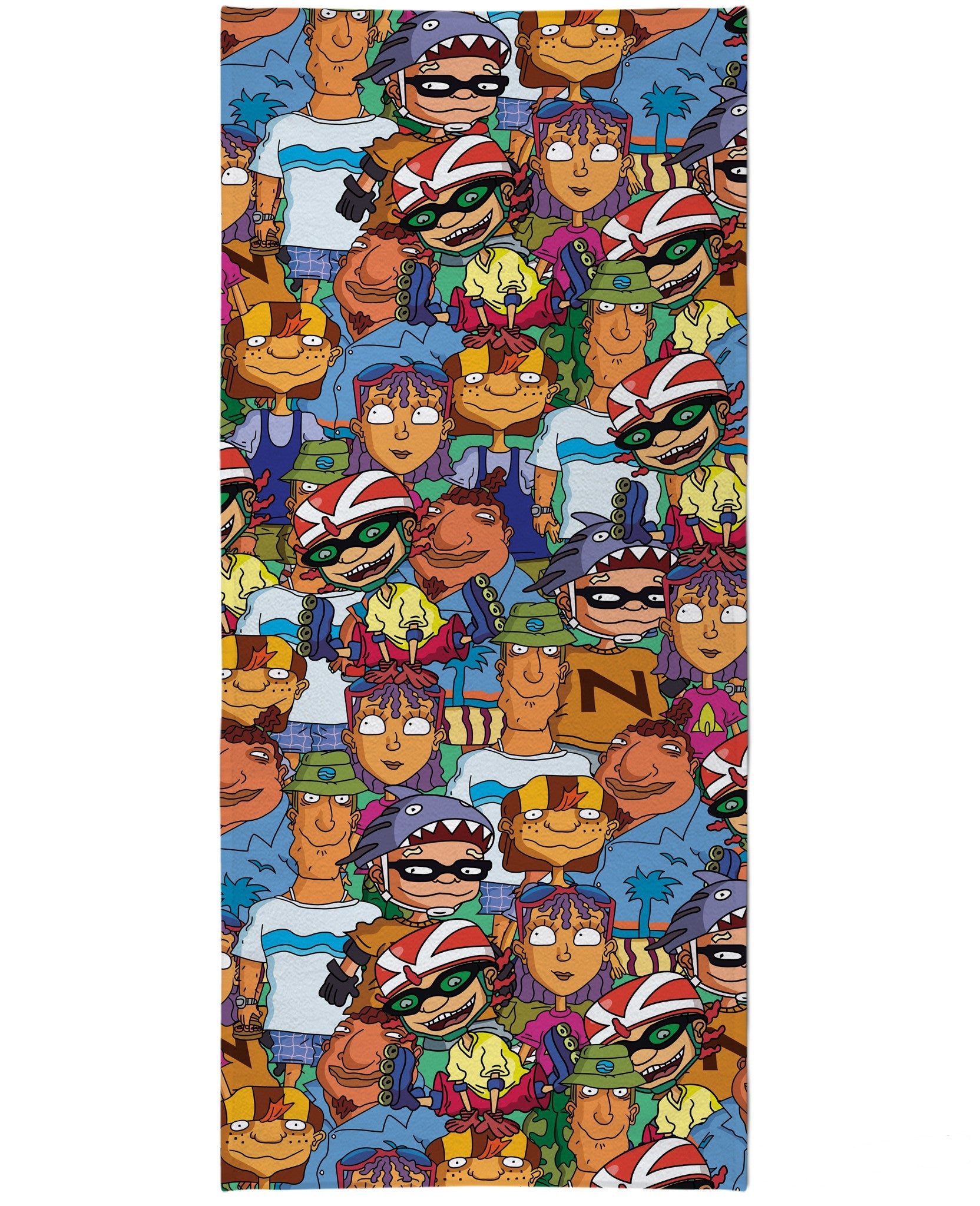 Rocket Power Beach Towel