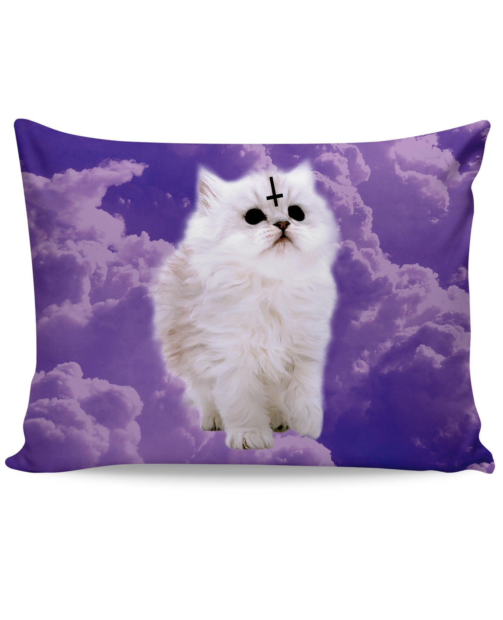 Satan Cat Pillow Case