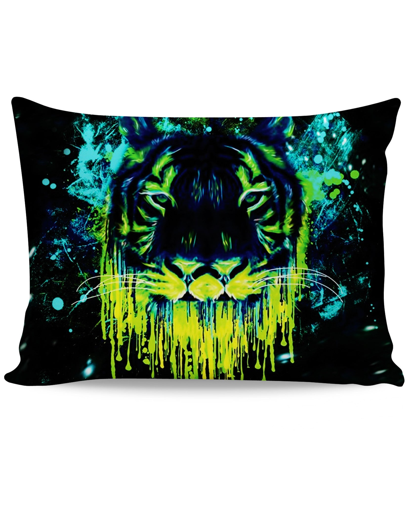 Tiger Drippy Pillow Case