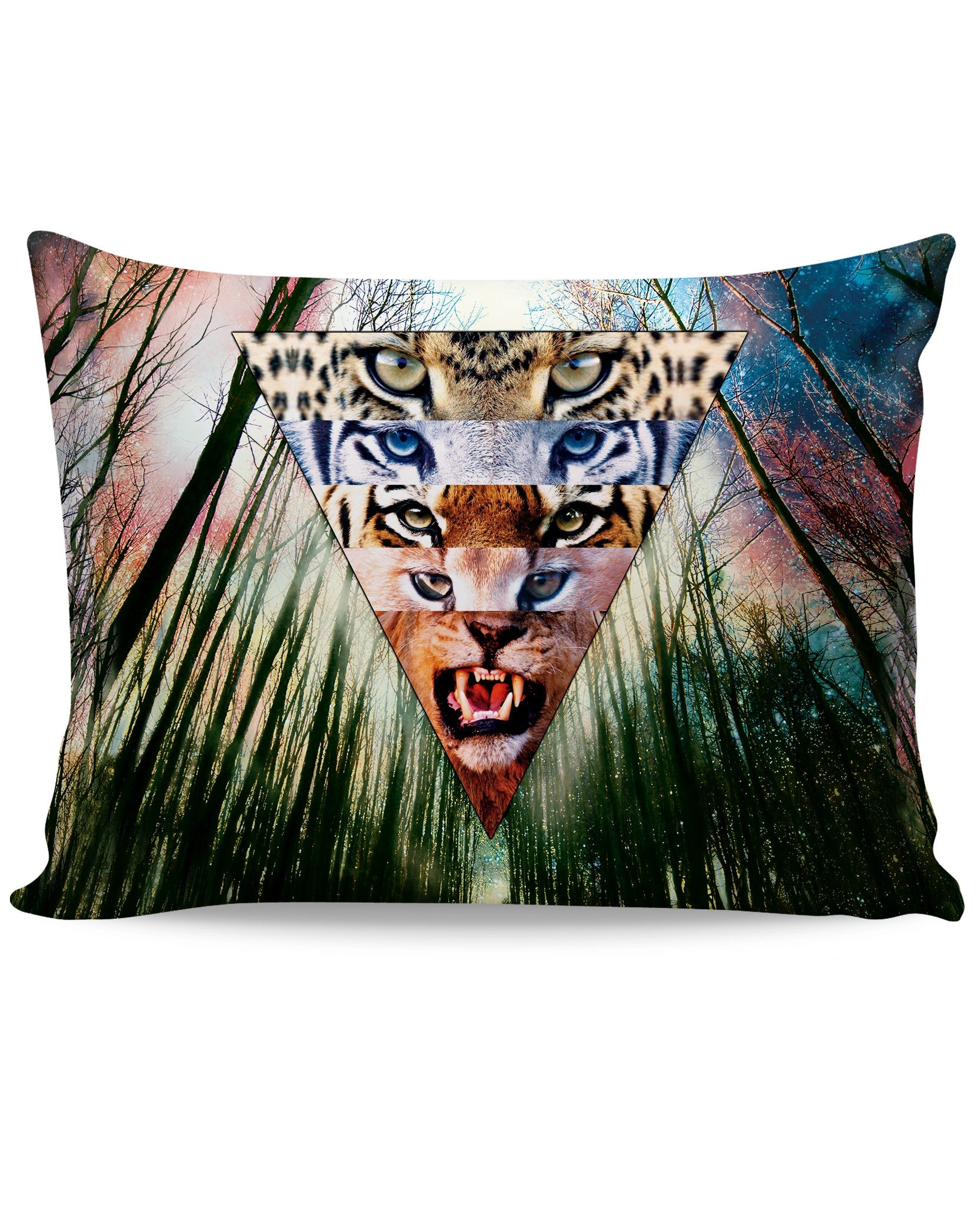Wild Cats Pillow Case