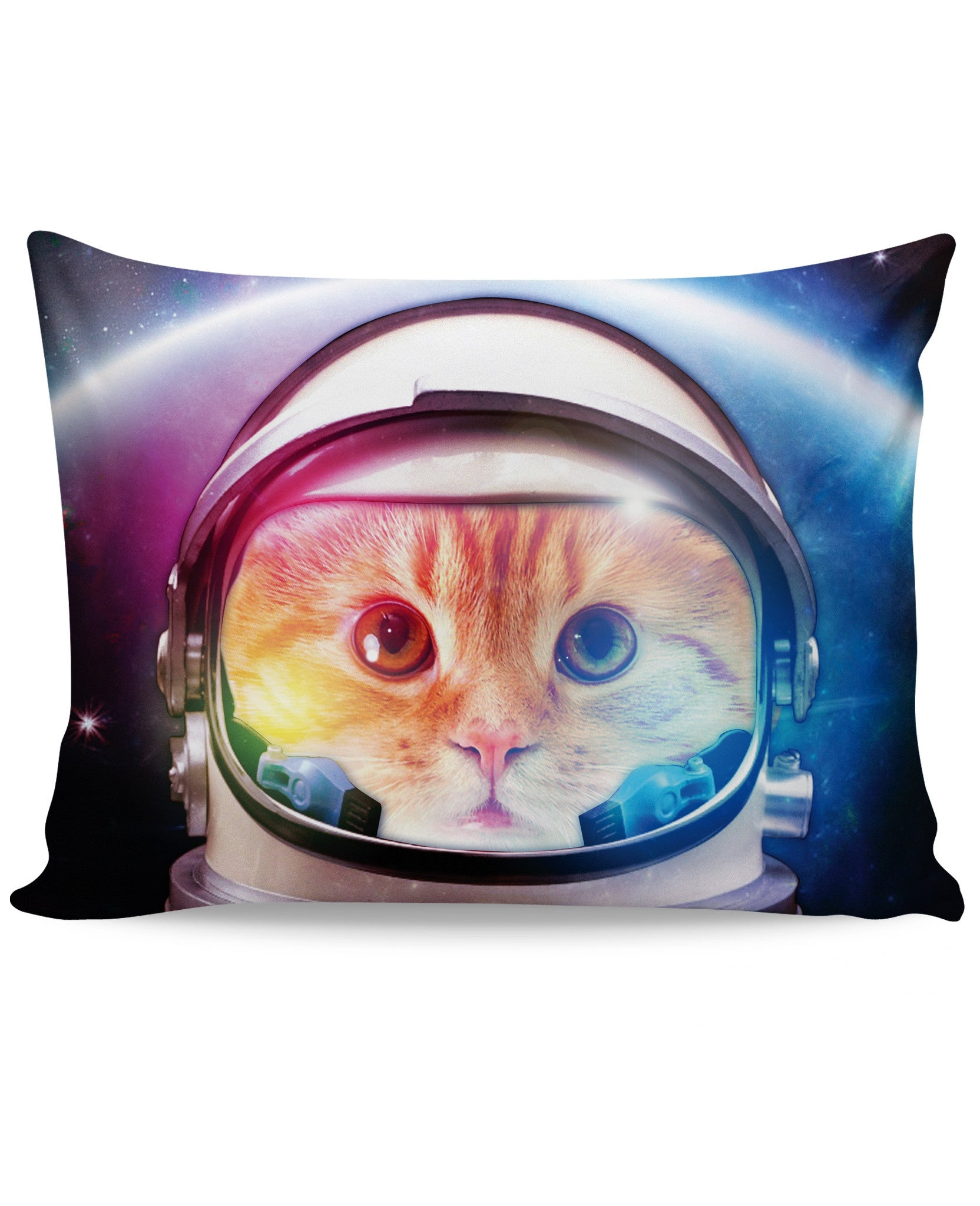 Space Cat Pillow Case