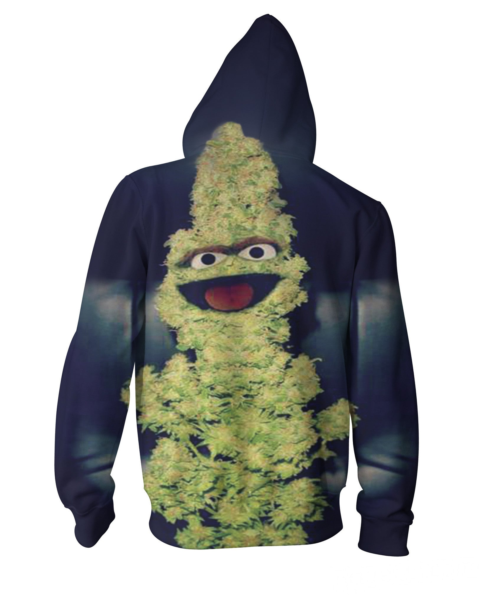 Oscar the Nug Zip-Up Hoodie