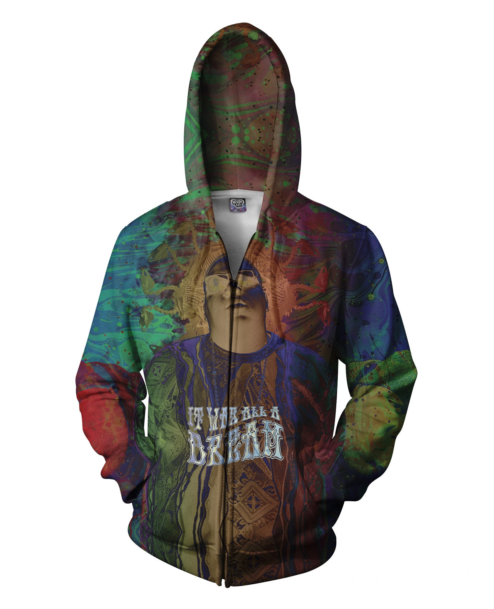 It was all a Dream Zip-Up Hoodie
