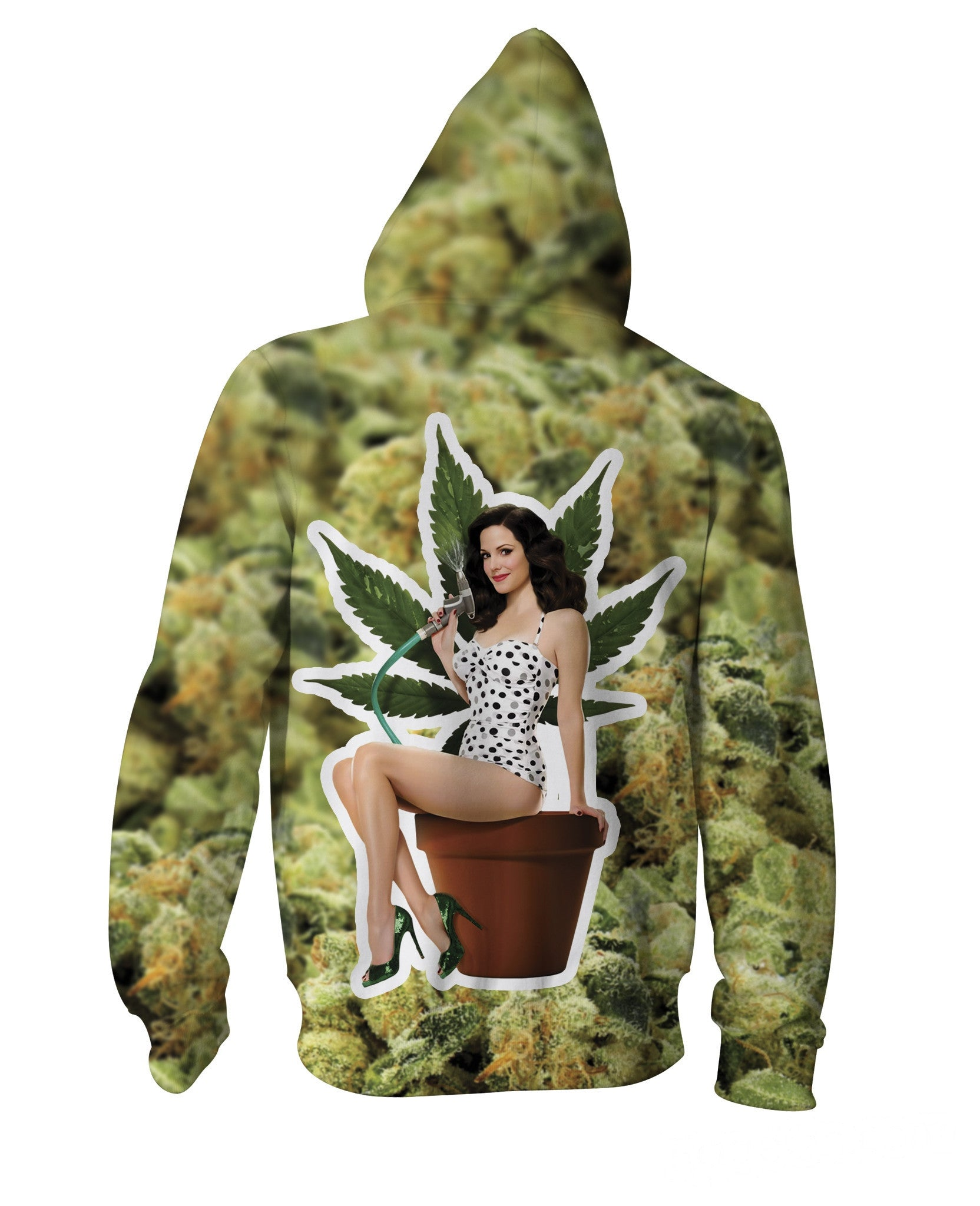 Nancy Botwin Weeds Zip-Up Hoodie