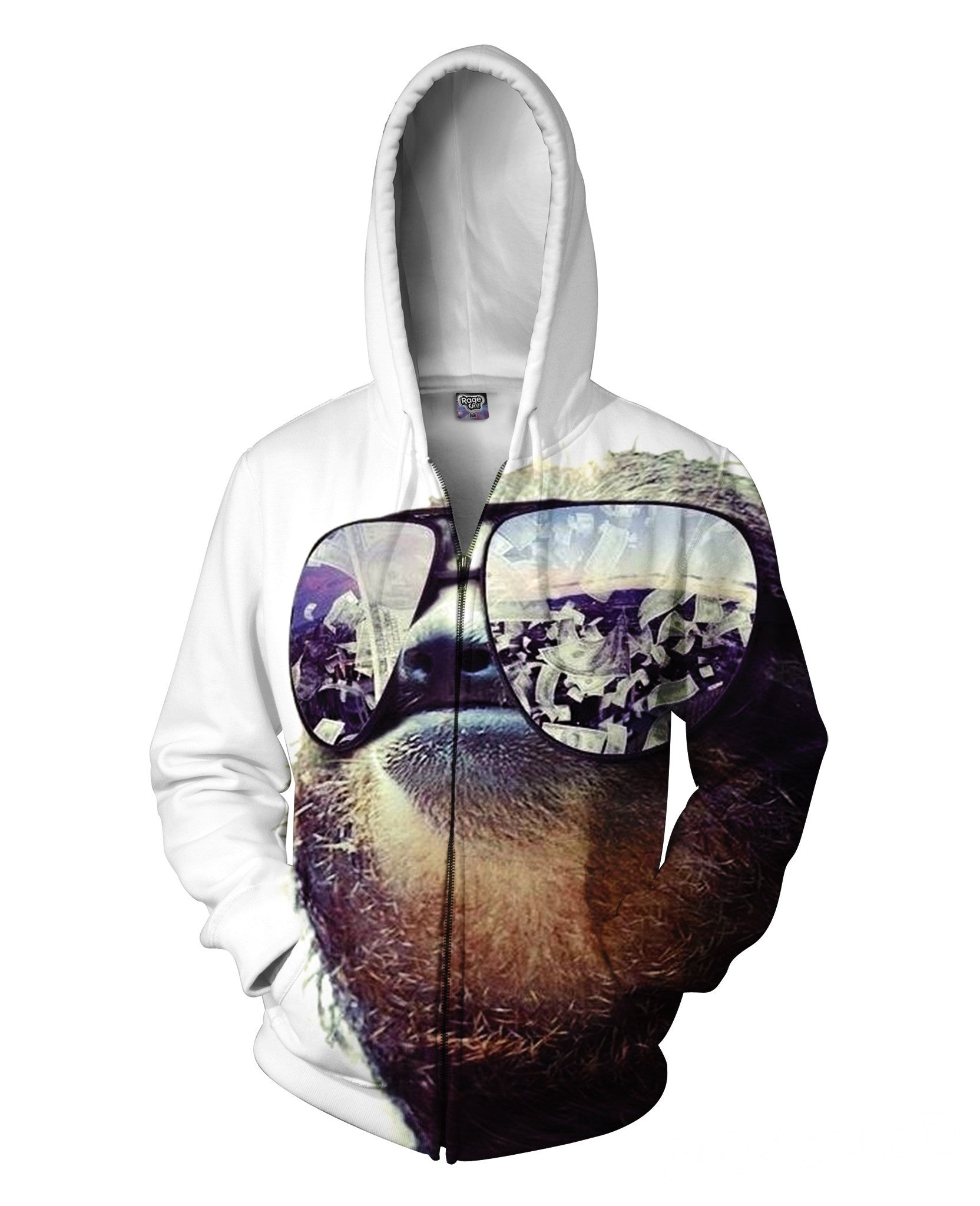 Sloth Swag Zip-Up Hoodie