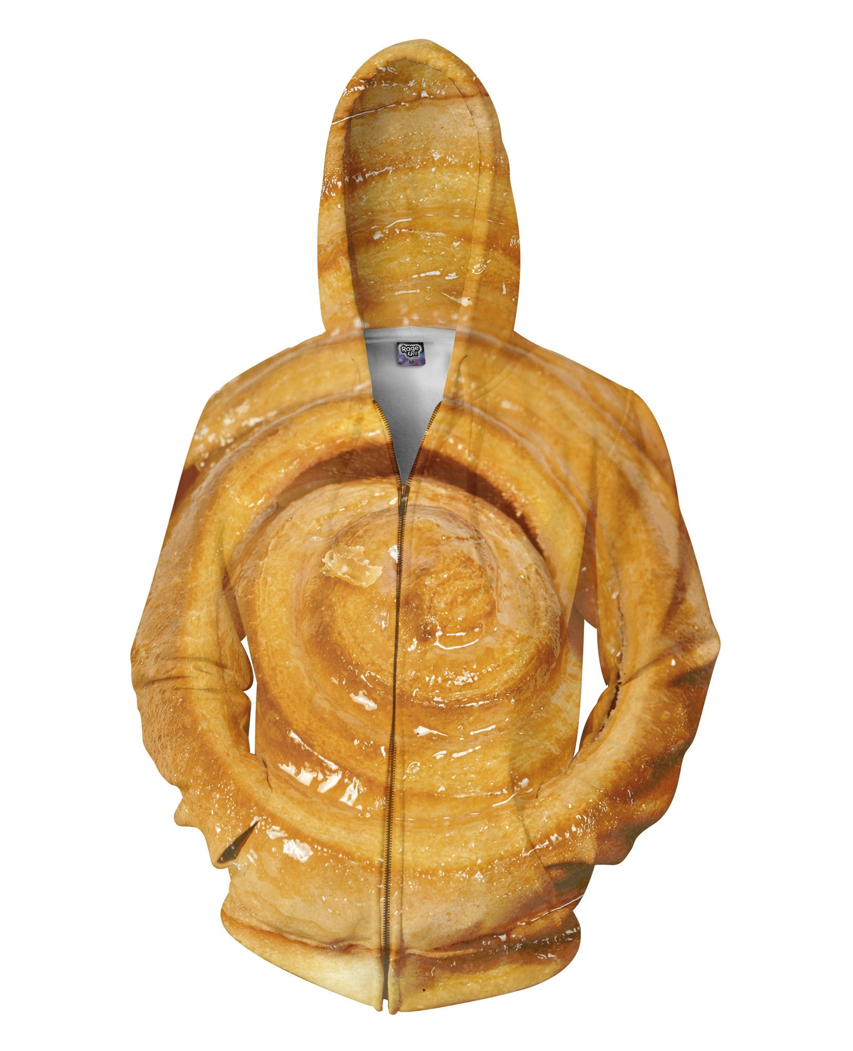 Cinnabon Cinnamon Roll Zip Up-Hoodie