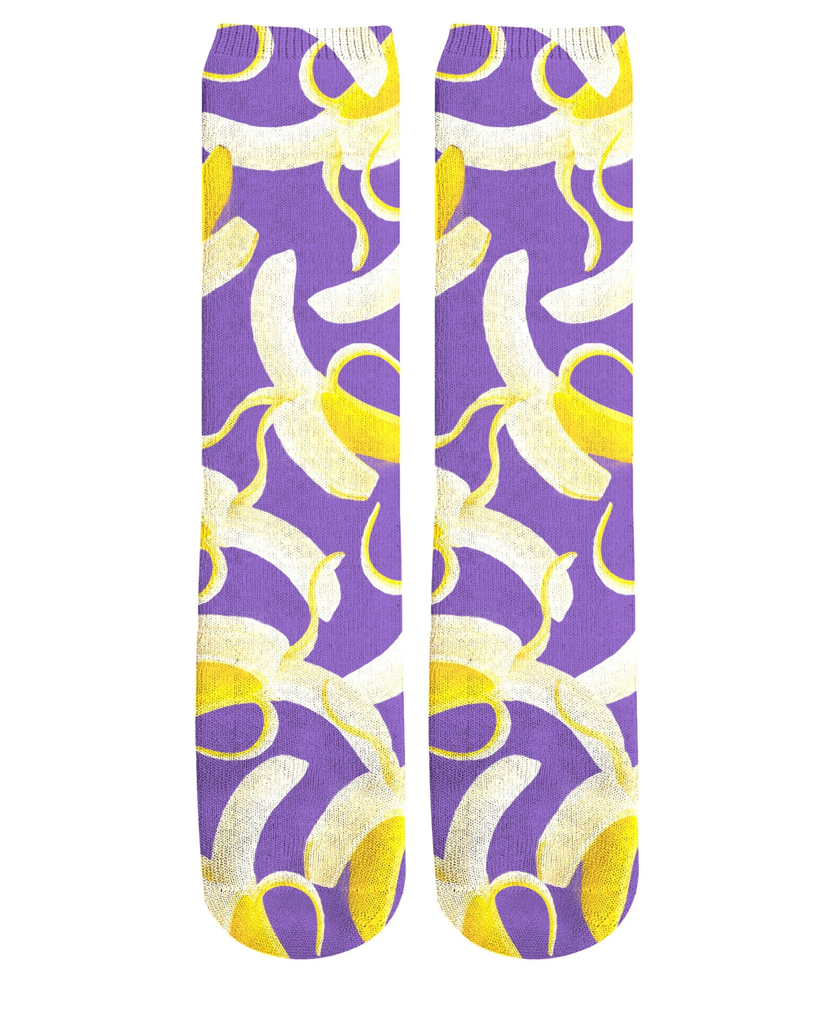 Banana Knee High Socks
