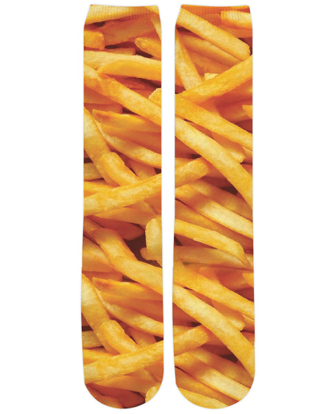 French Fries Knee High Socks