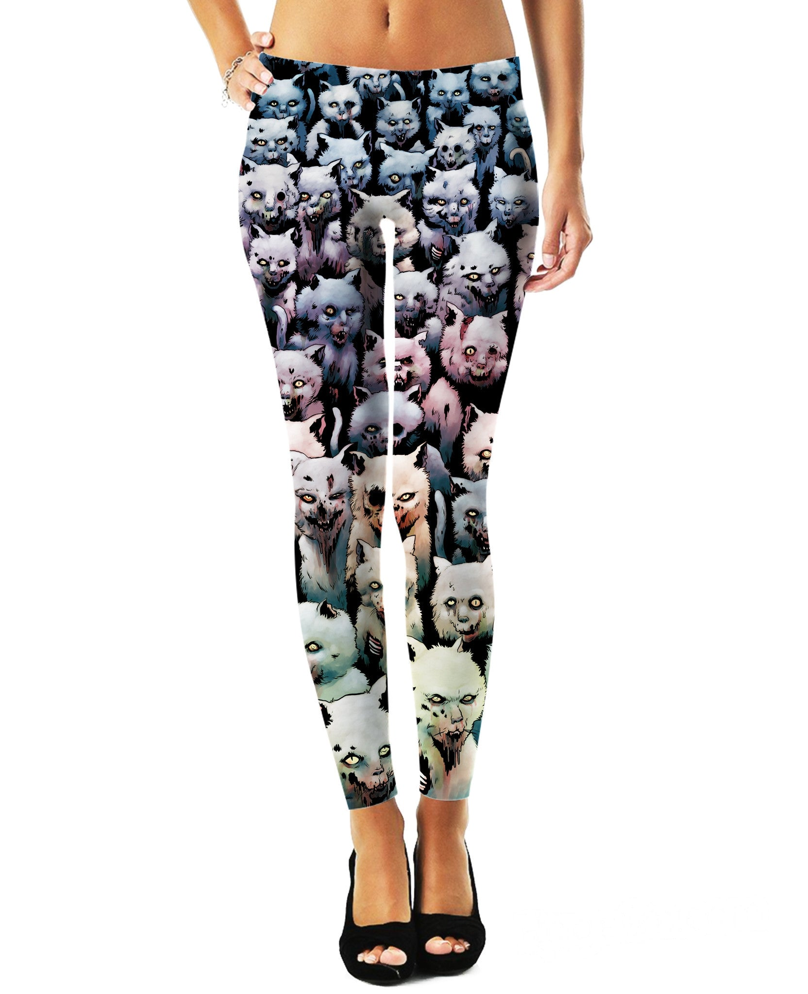 Zombie Kitties Leggings