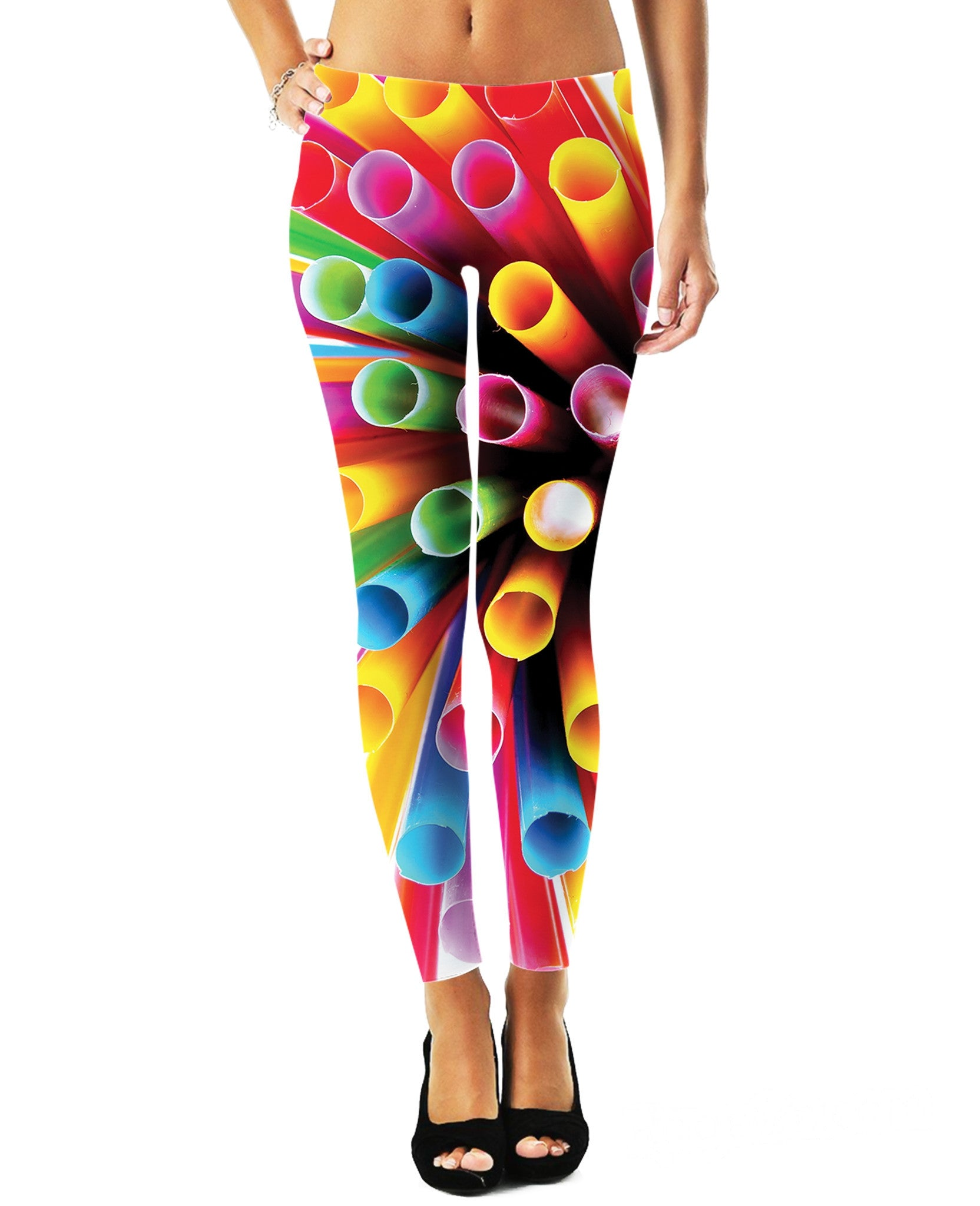 Straws Leggings