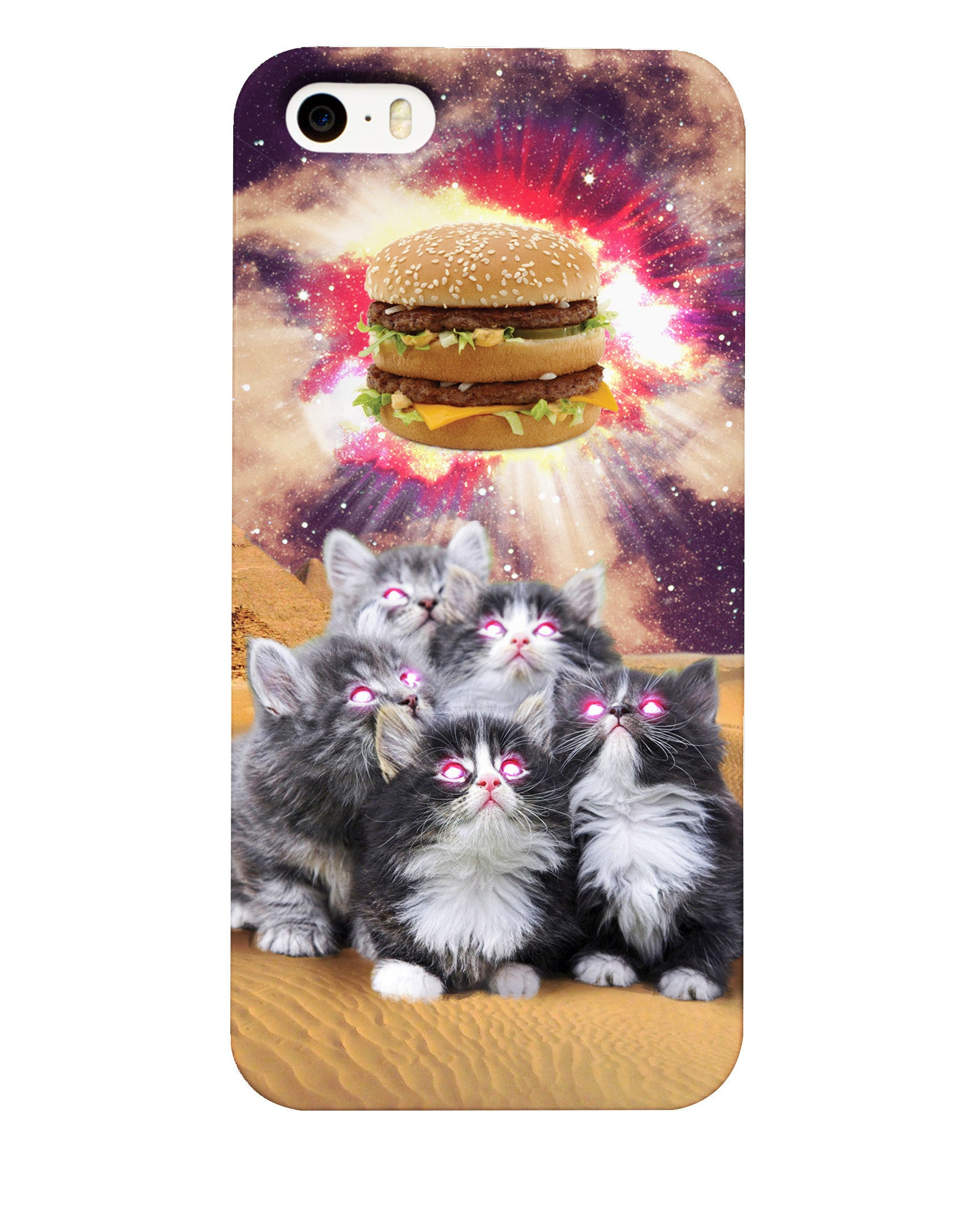 Worship the Burger Phone Case