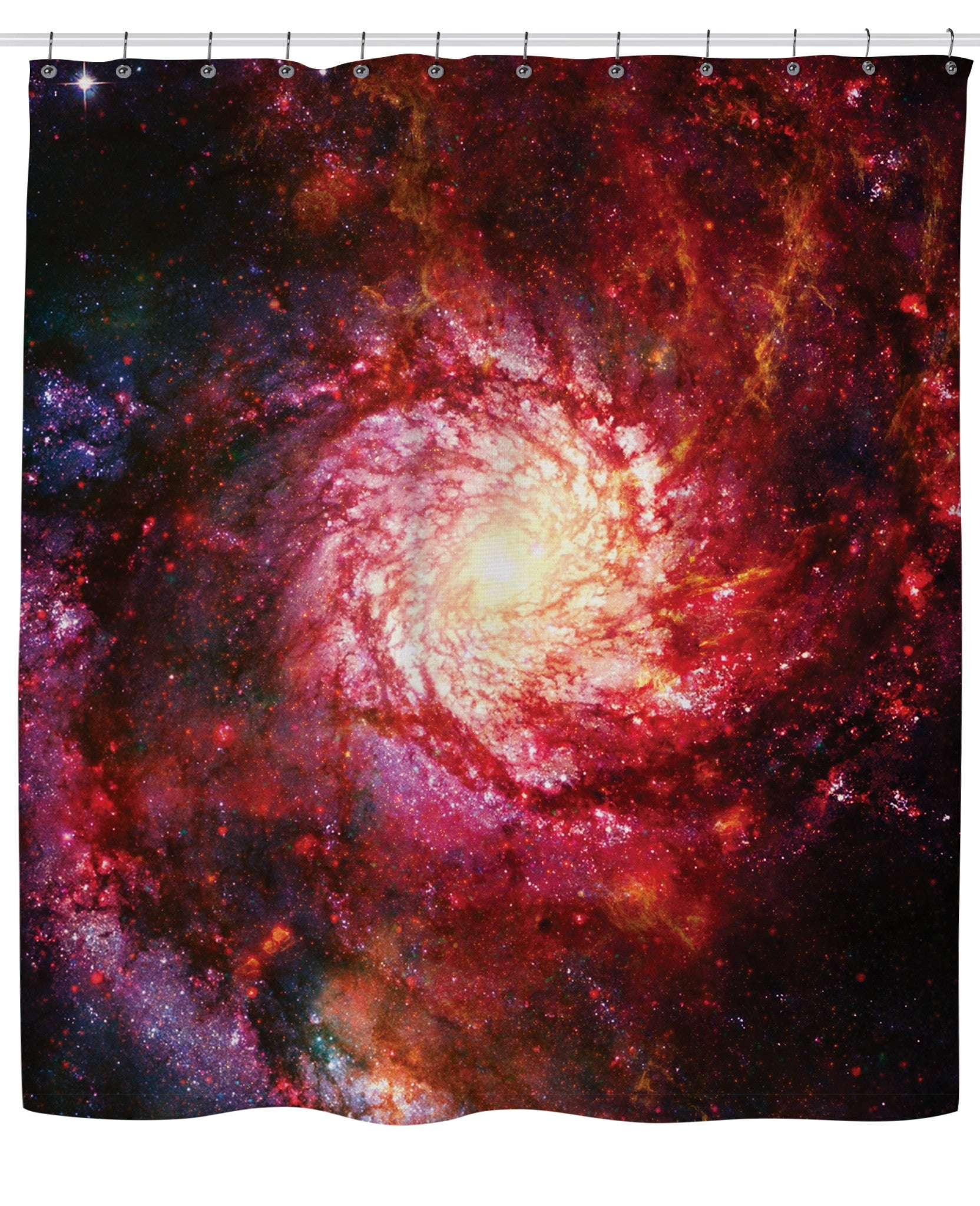 Space Eye Shower Curtain