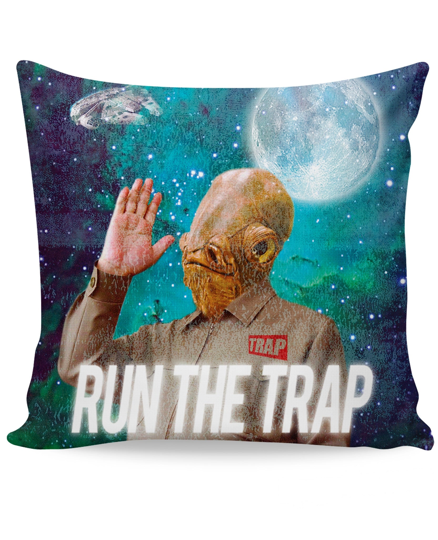 Admiral Ackbar TRAP Couch Pillow