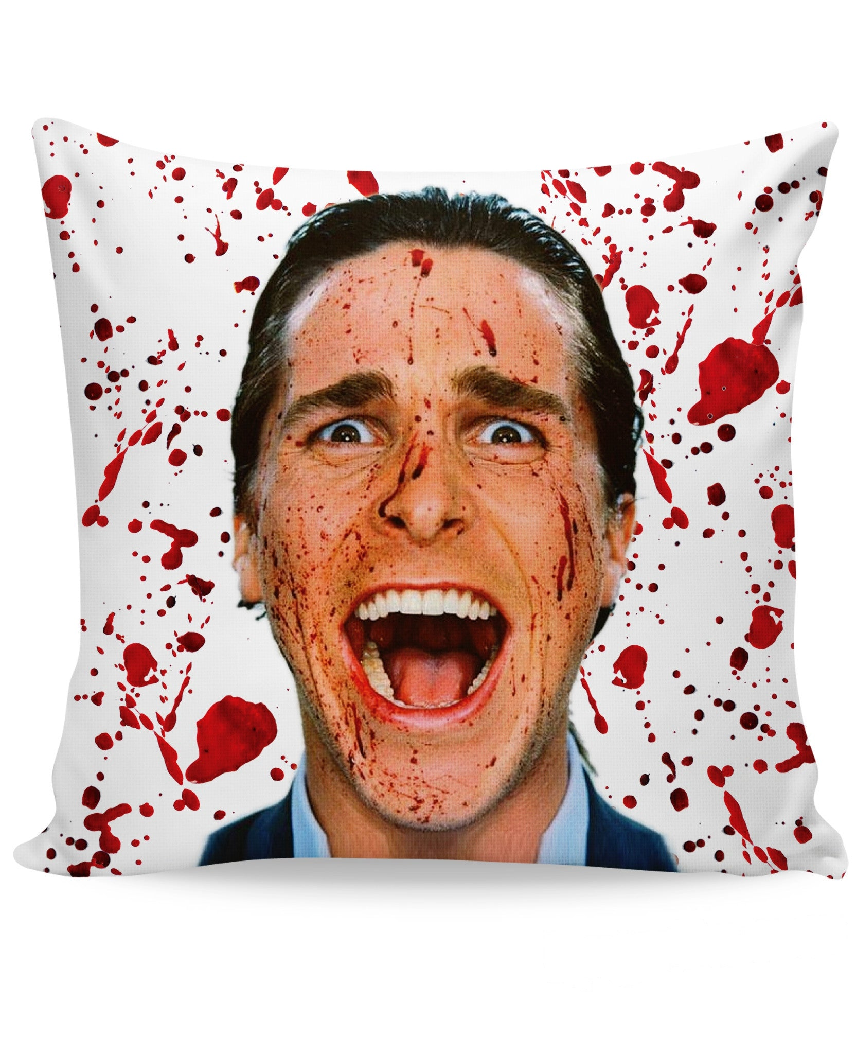 American Psycho Couch Pillow