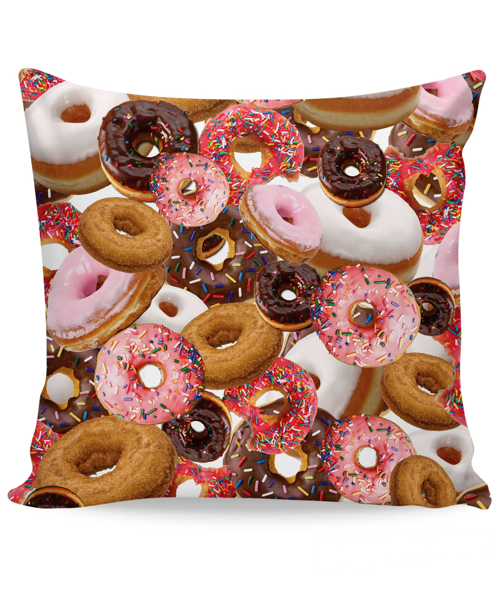 Donuts Couch Pillow
