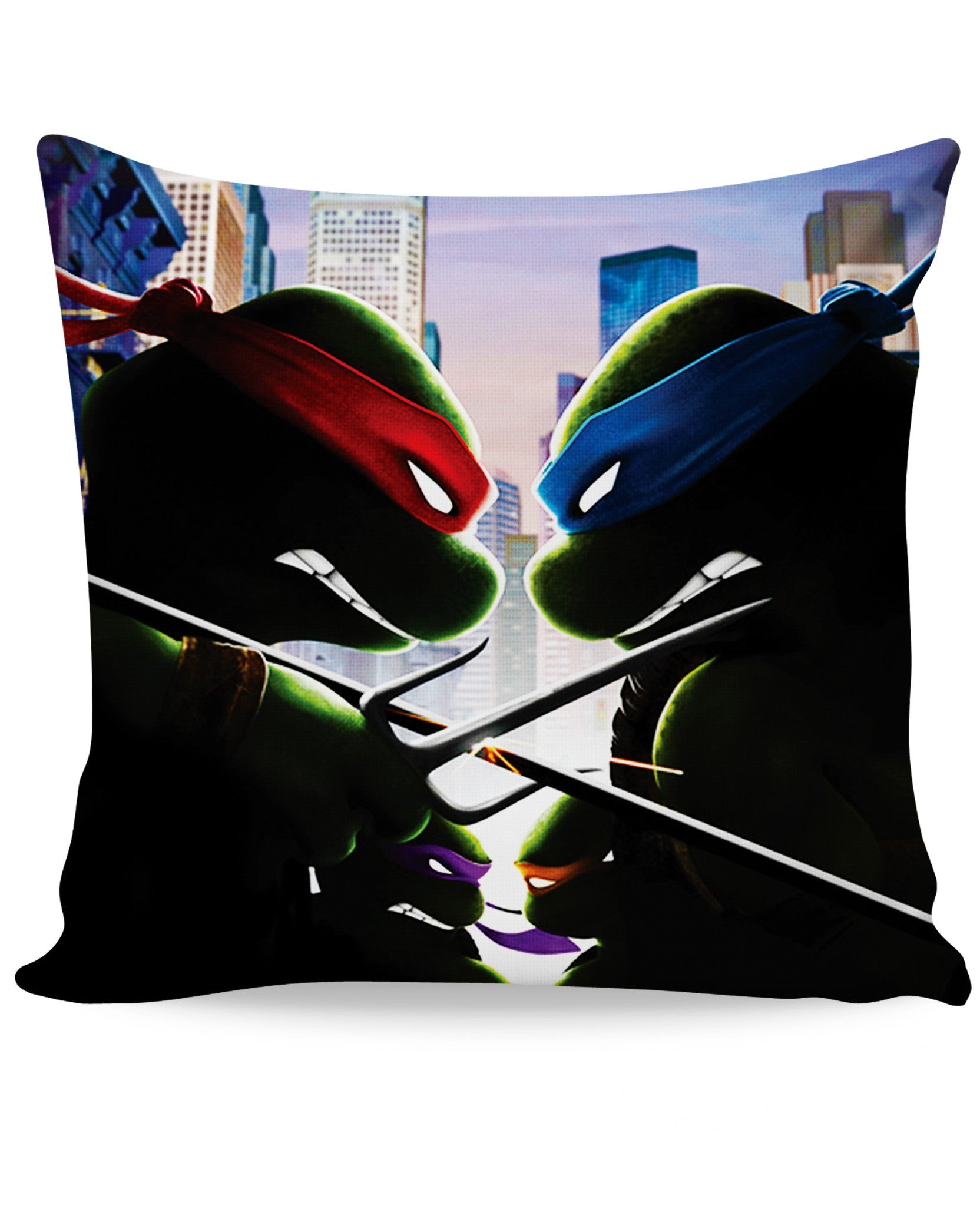 Turtle Power Couch Pillow