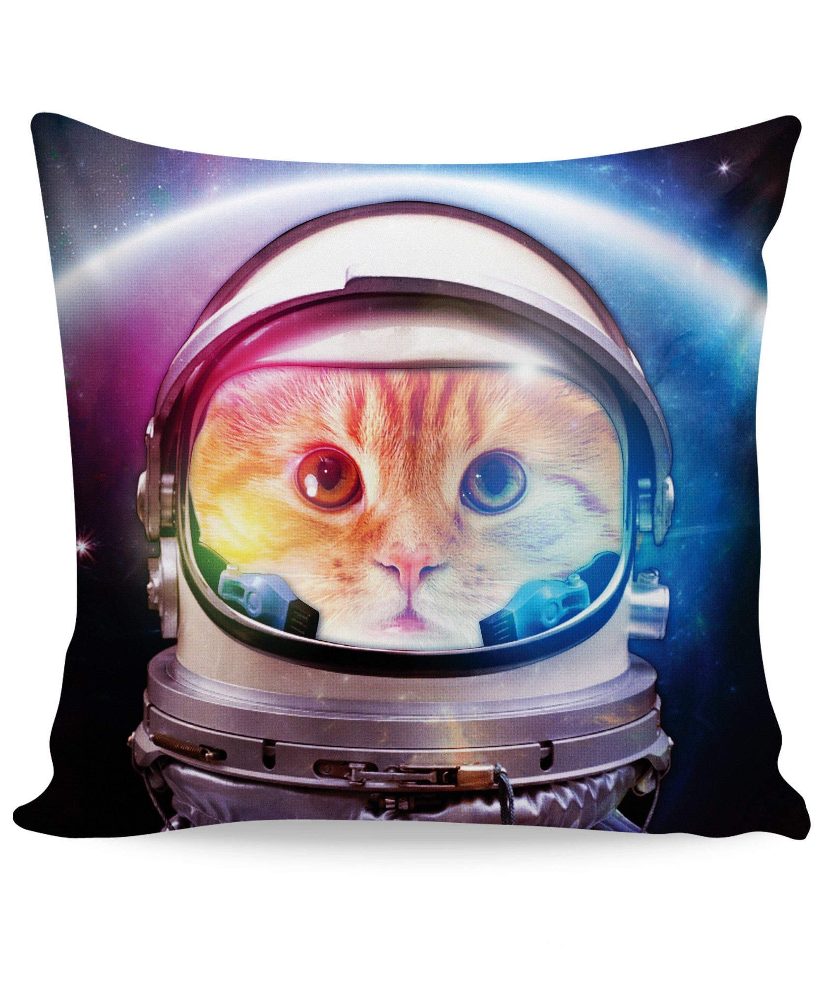 Space Cat Couch Pillow
