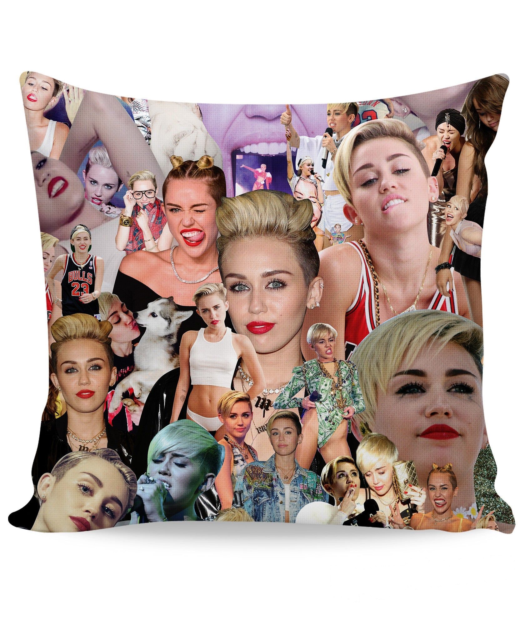 Miley Cyrus Paparazzi Couch Pillow