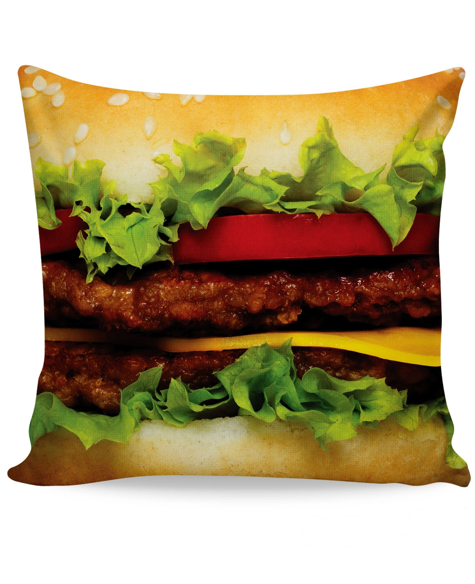 Burger Couch Pillow
