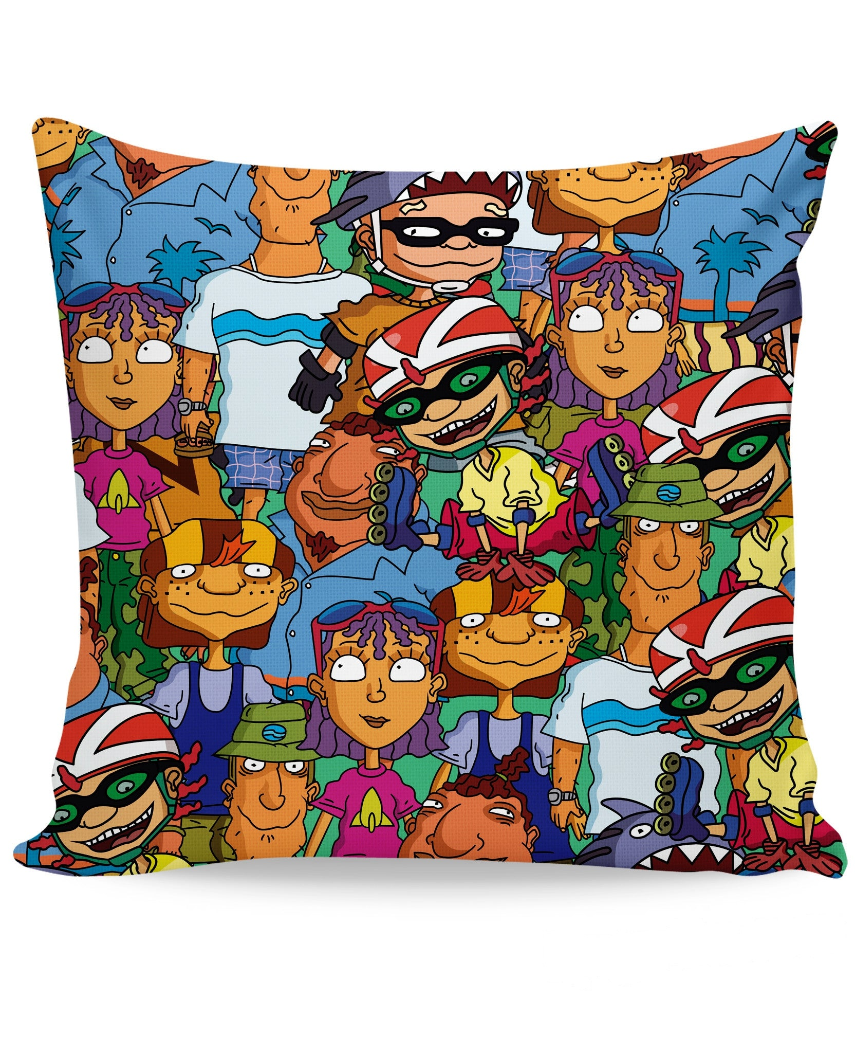 Rocket Power Couch Pillow