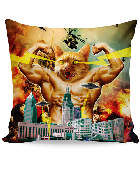Godzilla Cat Couch Pillow