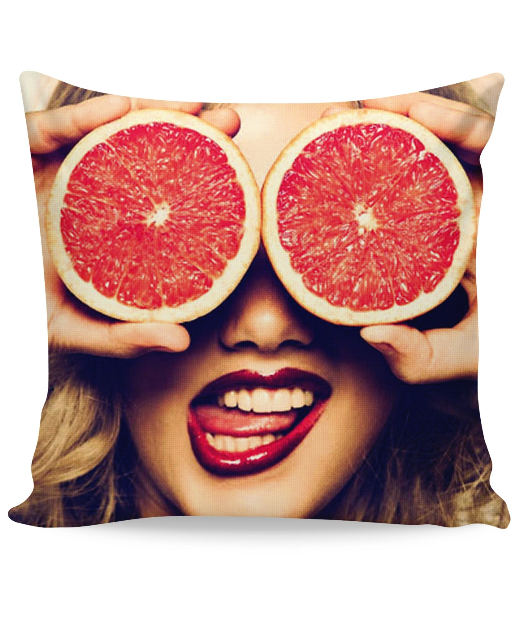 Fruity Flirt Couch Pillow