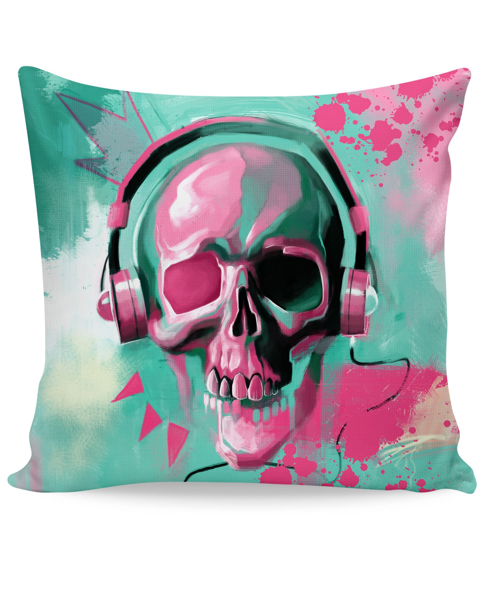 Skull Candy Couch Pillow