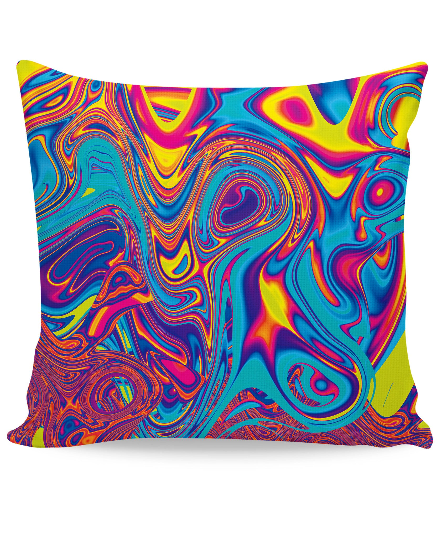 Oil Spill Couch Pillow