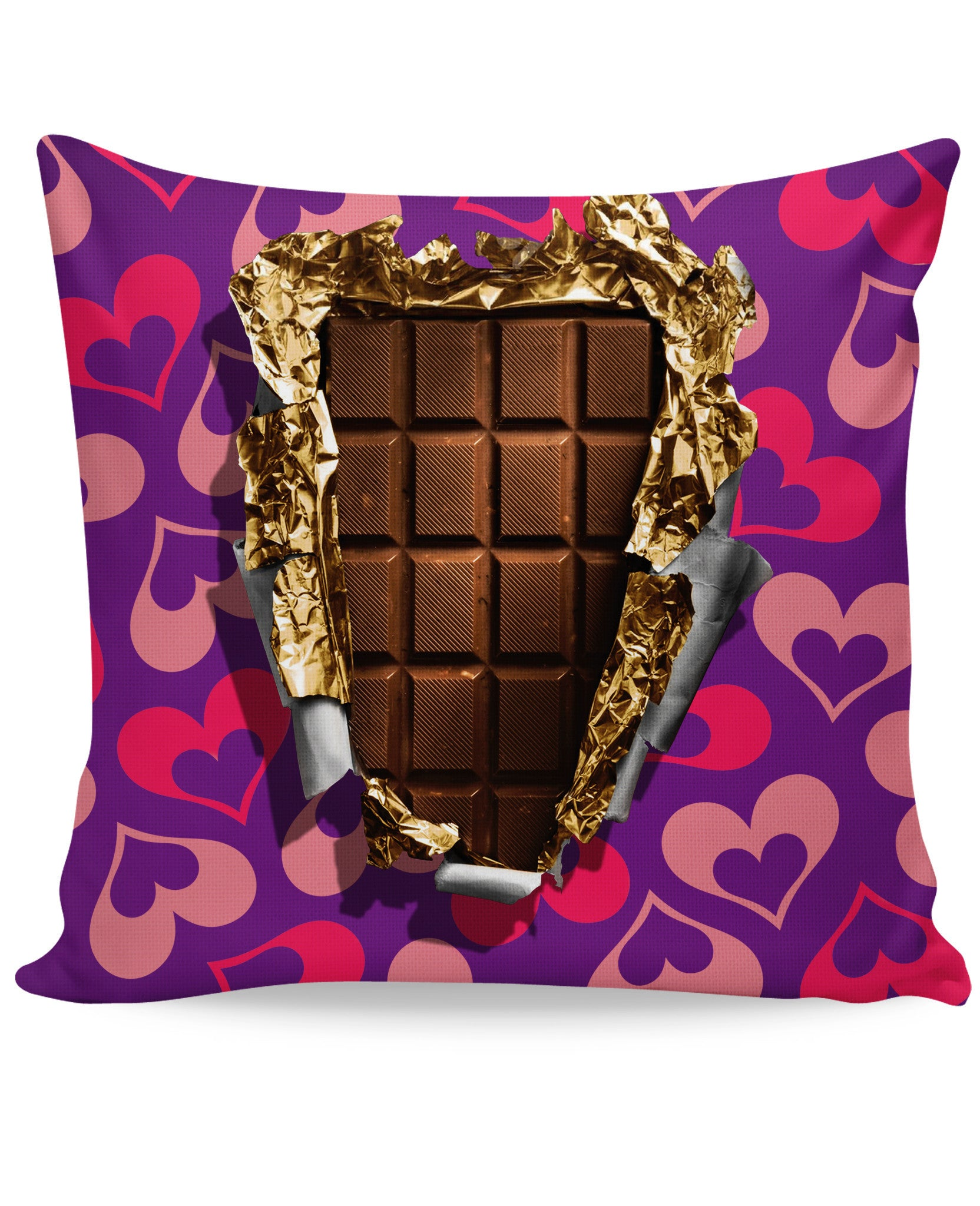 Chocolate Bar Couch Pillow