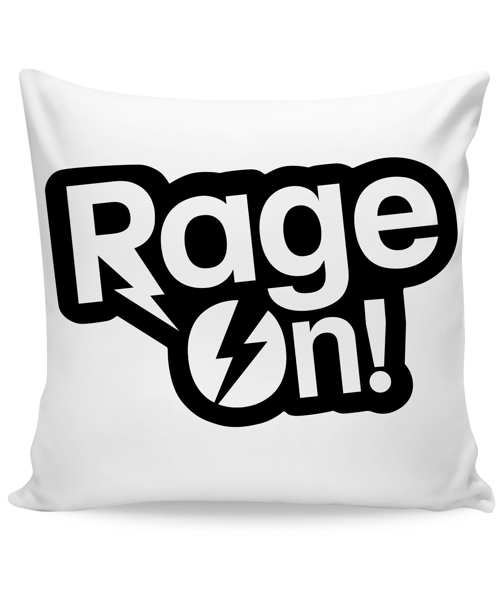 RageOn Logo Couch Pillow