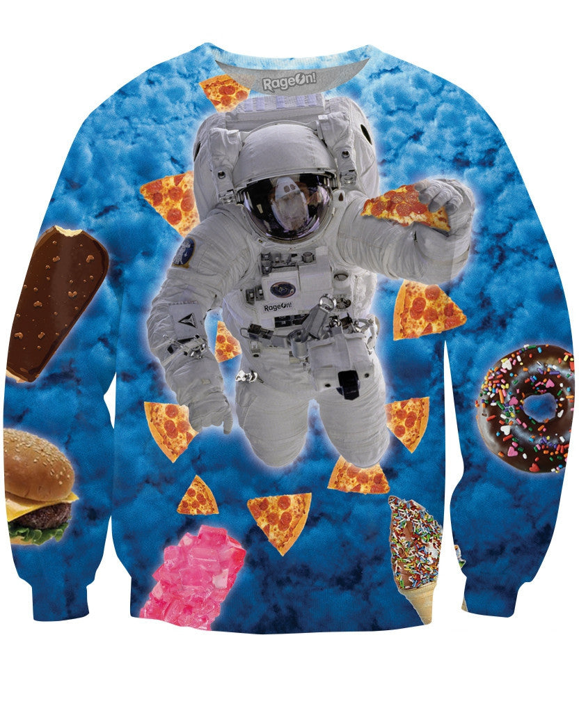 Space Munchies Crewneck Sweatshirt
