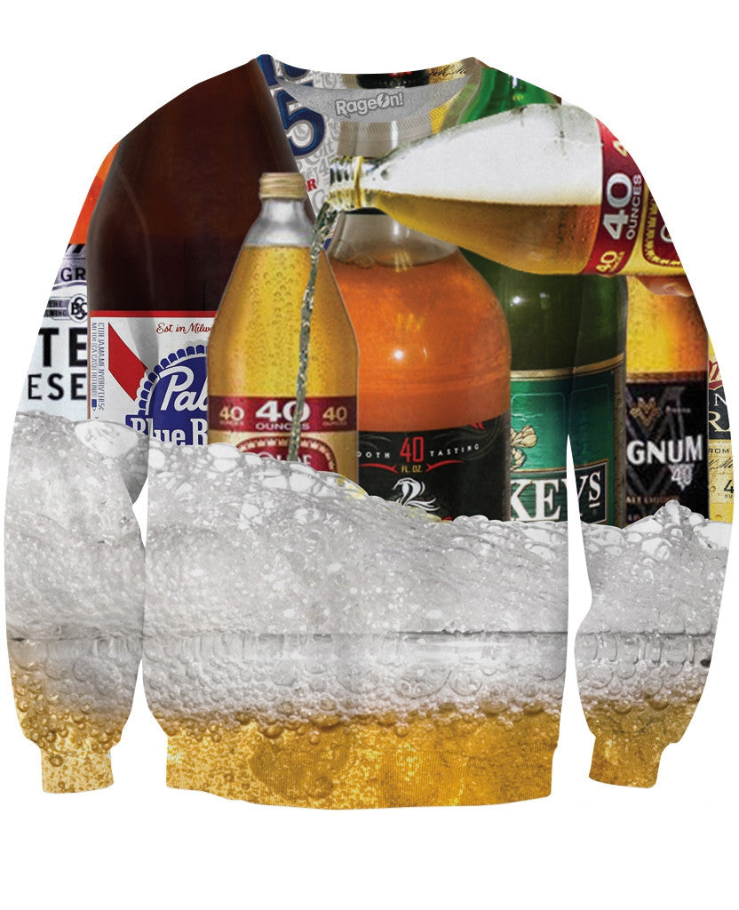 40 Ounces Crewneck Sweatshirt