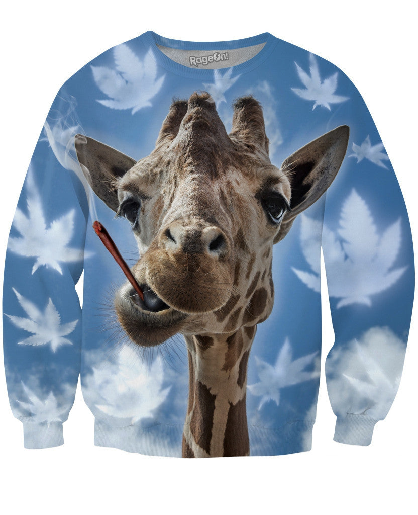 Sky High Giraffe Crewneck Sweatshirt