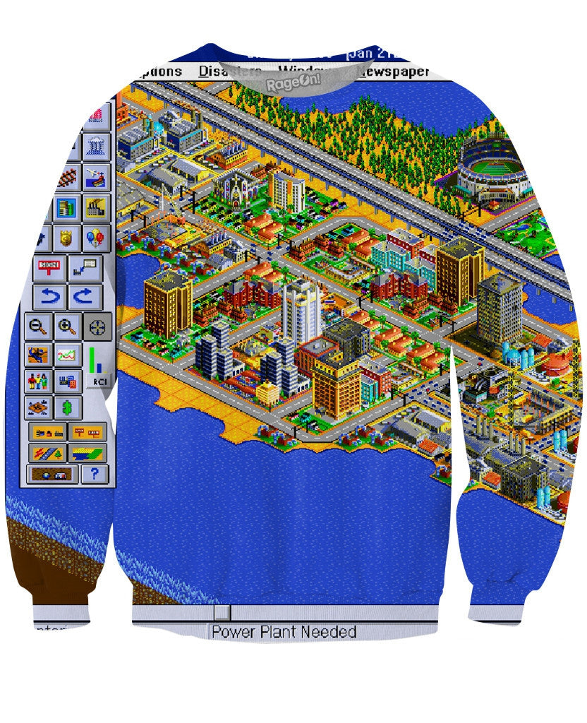 Sim City Crewneck Sweatshirt