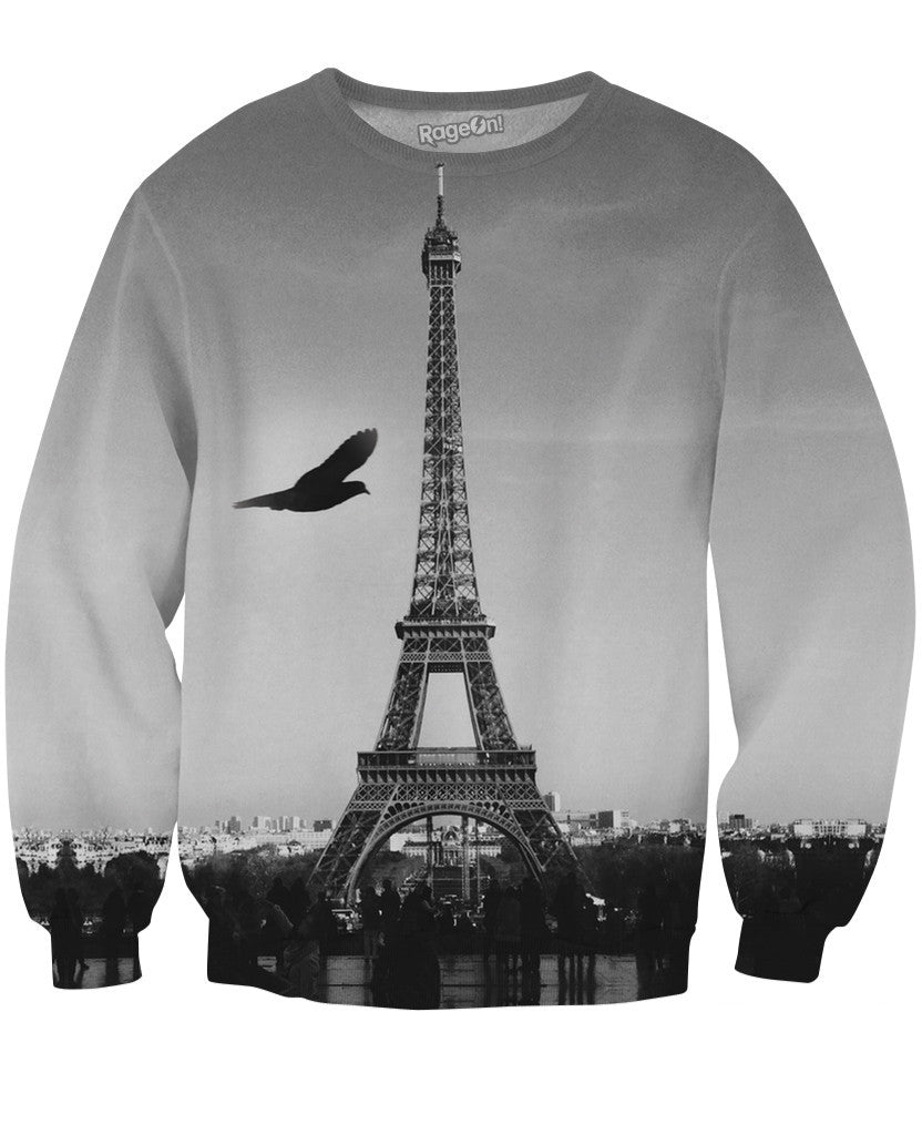 Eiffel Tower Crewneck Sweatshirt