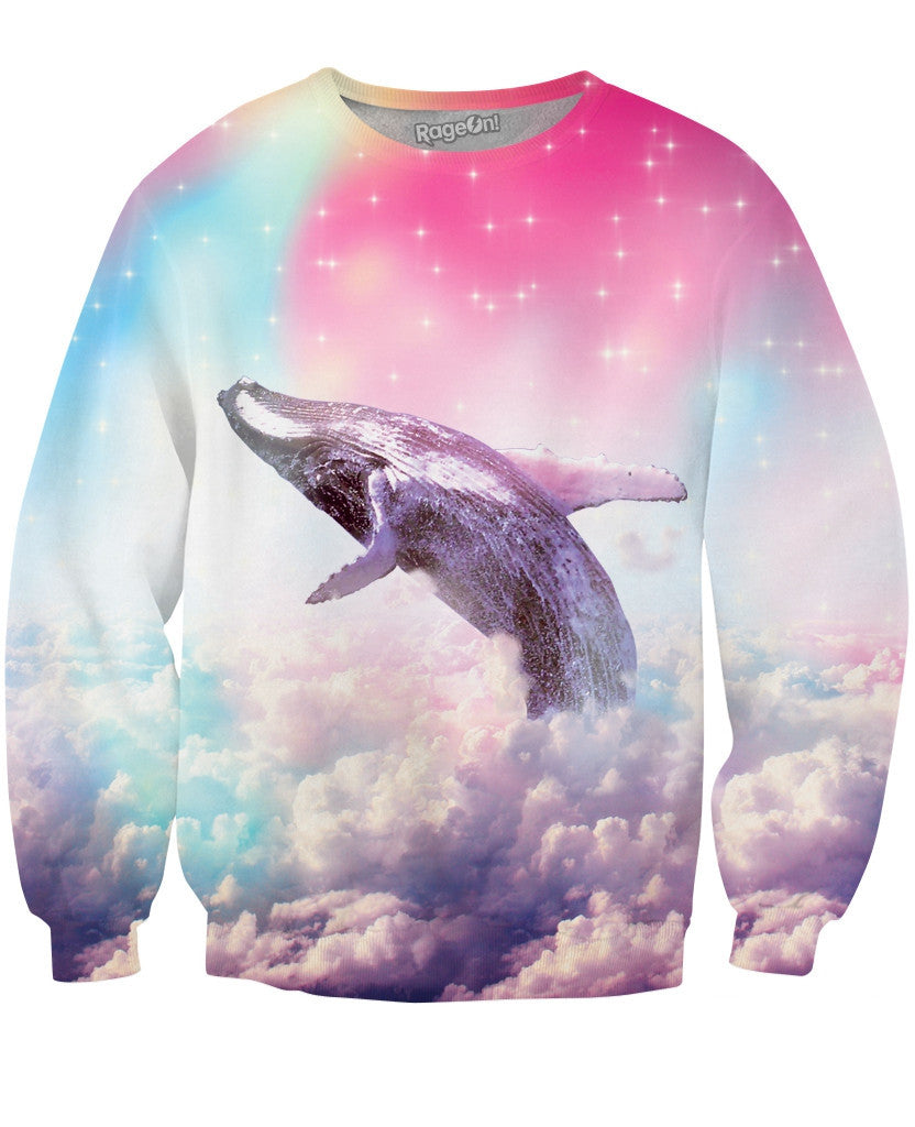 Flippin For It Like Dolphins Crewneck Sweatshirt