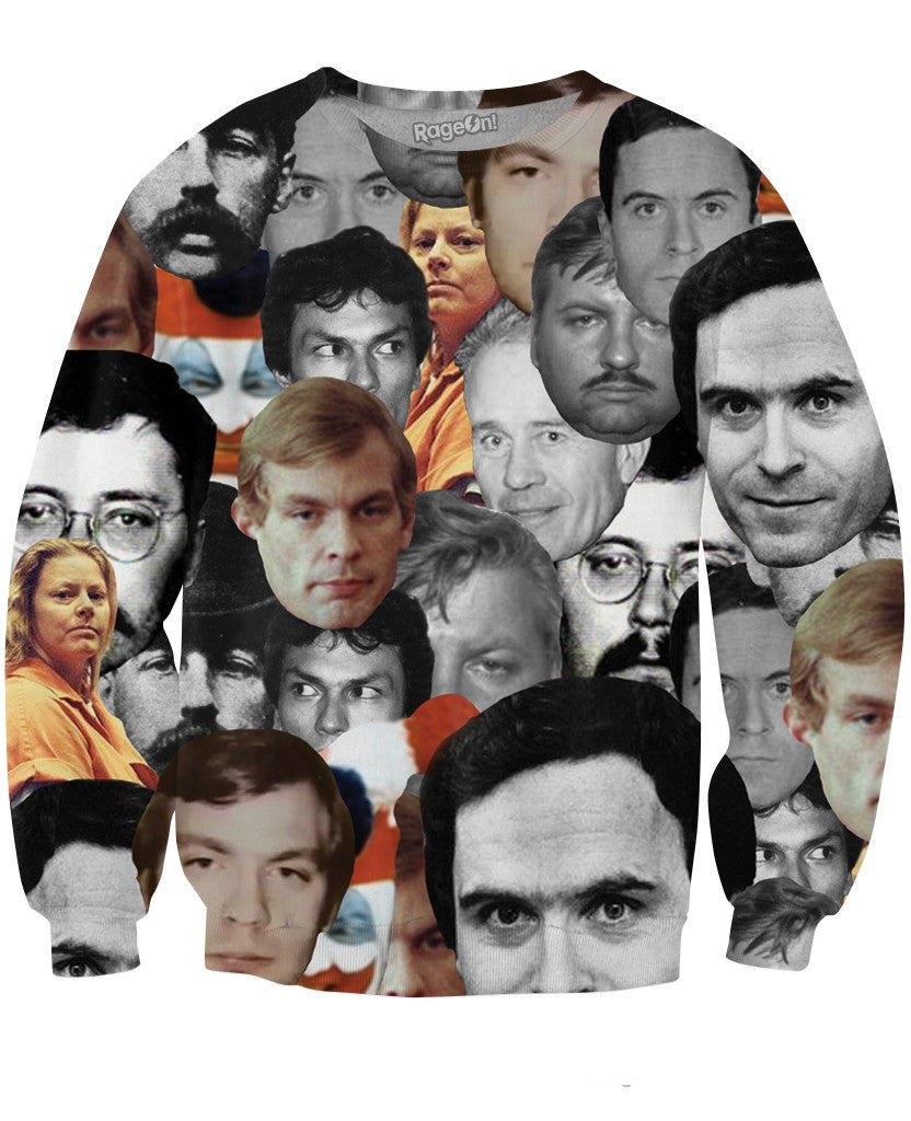 Serial Killers Crewneck Sweatshirt