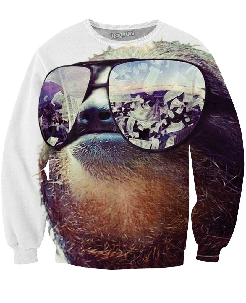 Sloth Swag Crewneck Sweatshirt