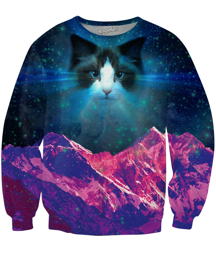 Ceiling Cat Crewneck Sweatshirt
