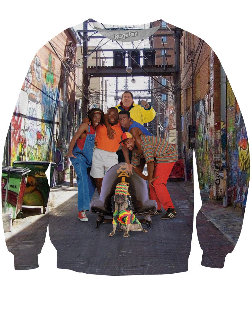 Jamaican Queens Crewneck Sweatshirt