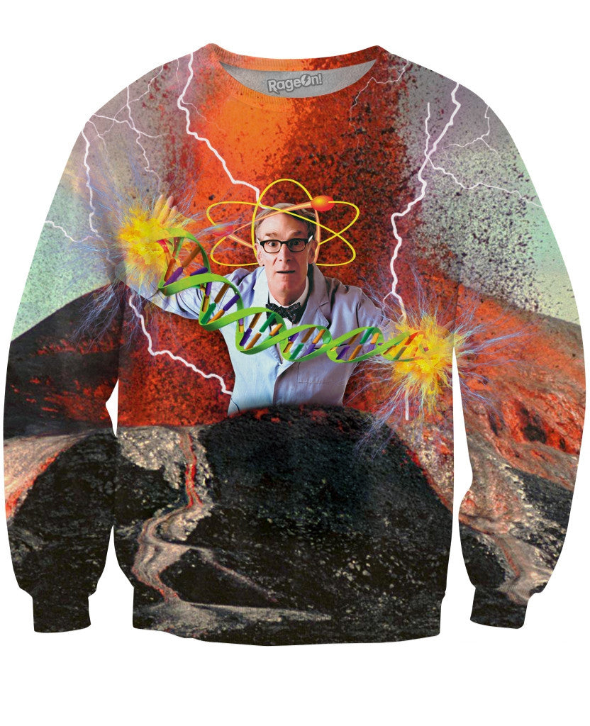 Bill Nye the Science Guy Crewneck Sweatshirt