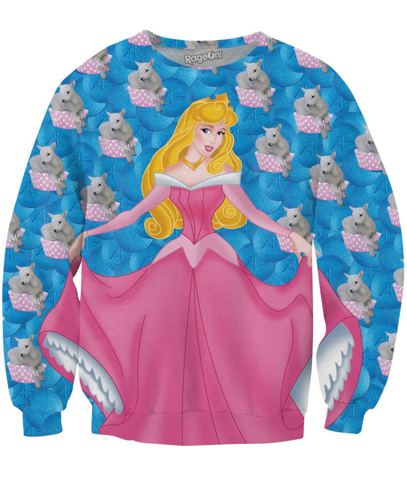 Sleeping Beauty Crewneck Sweatshirt