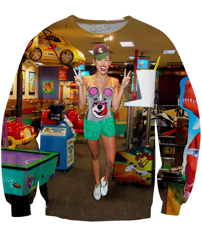 Miley Got a Job Crewneck Sweatshirt
