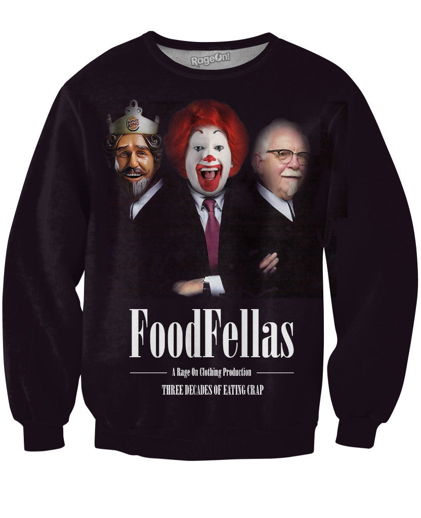Food Fellas Crewneck Sweatshirt