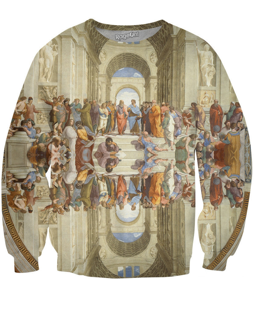 School of Athens Crewneck Sweatshirt